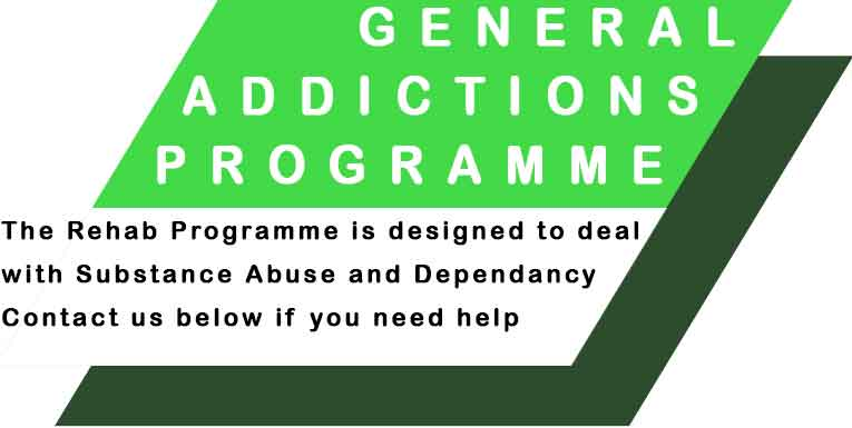 Rehan programme designed to deal with substance abuse and dependancy